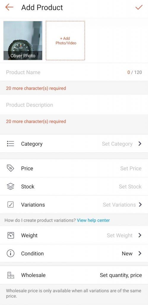add product shoppe malaysia
